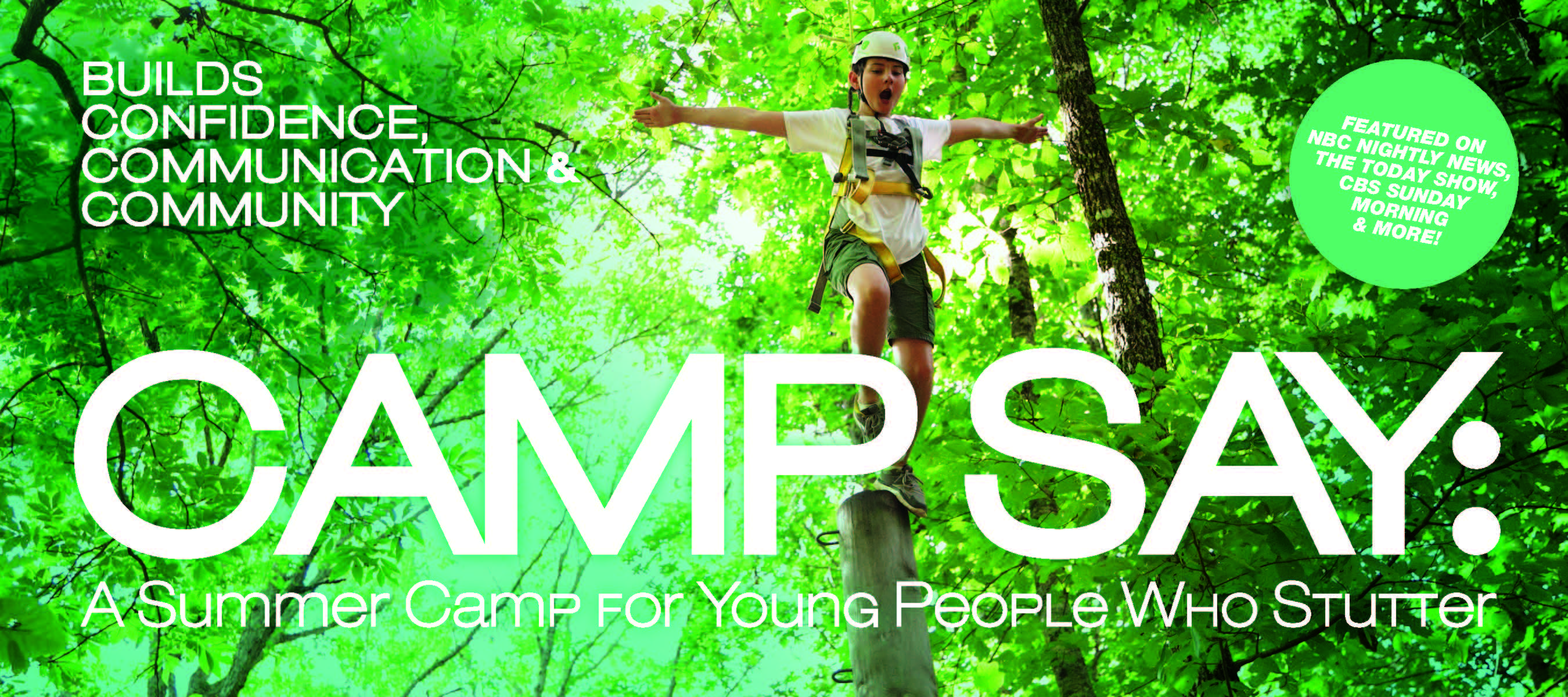 Brochures | Camp SAY: A Summer Camp for Young People who Stutter