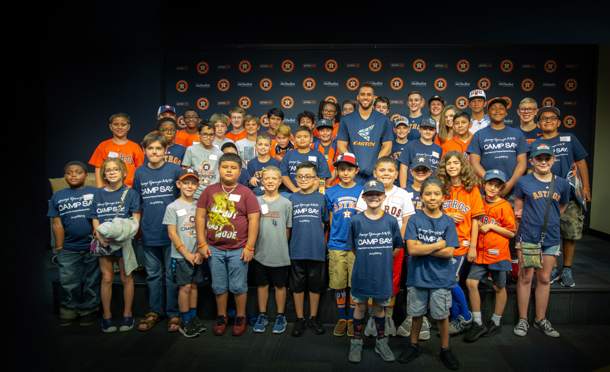 George Springer MVP Camp SAY