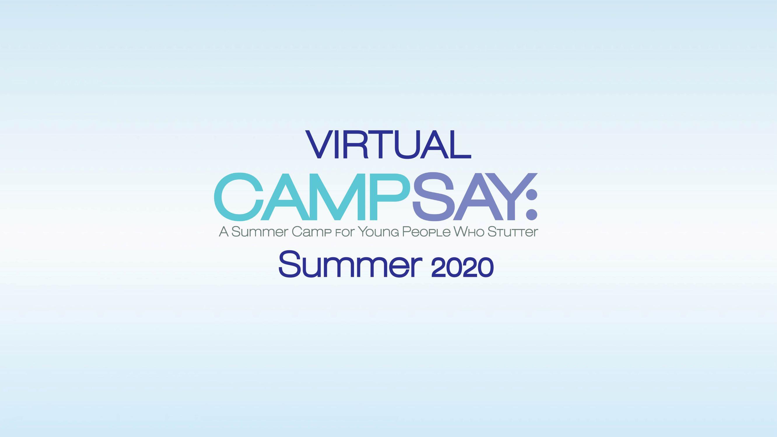 Virtual Camp SAY 2020