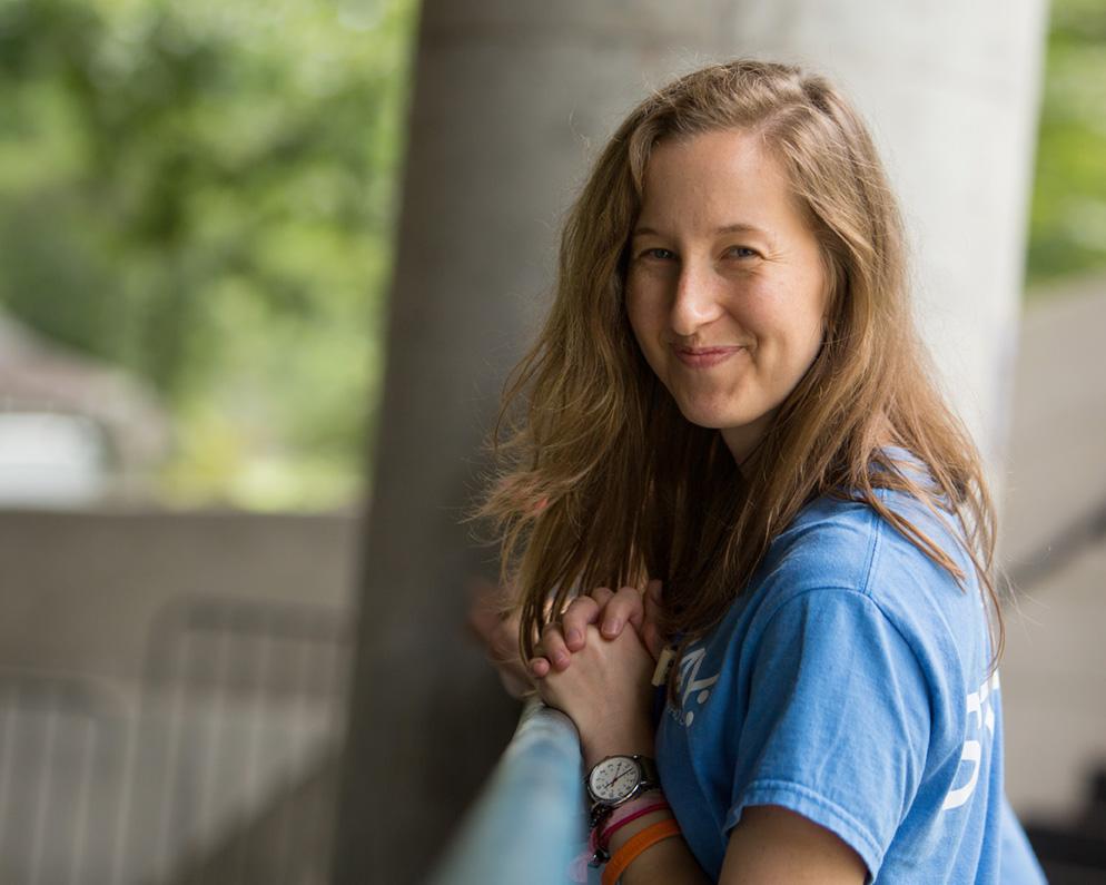 Programming Associate, Kate Detrick