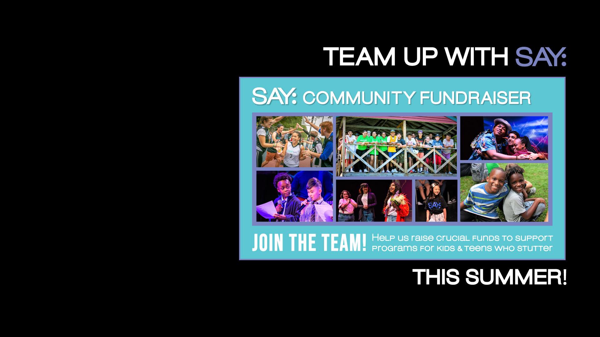 SAY Community Fundraiser - Summer 2021