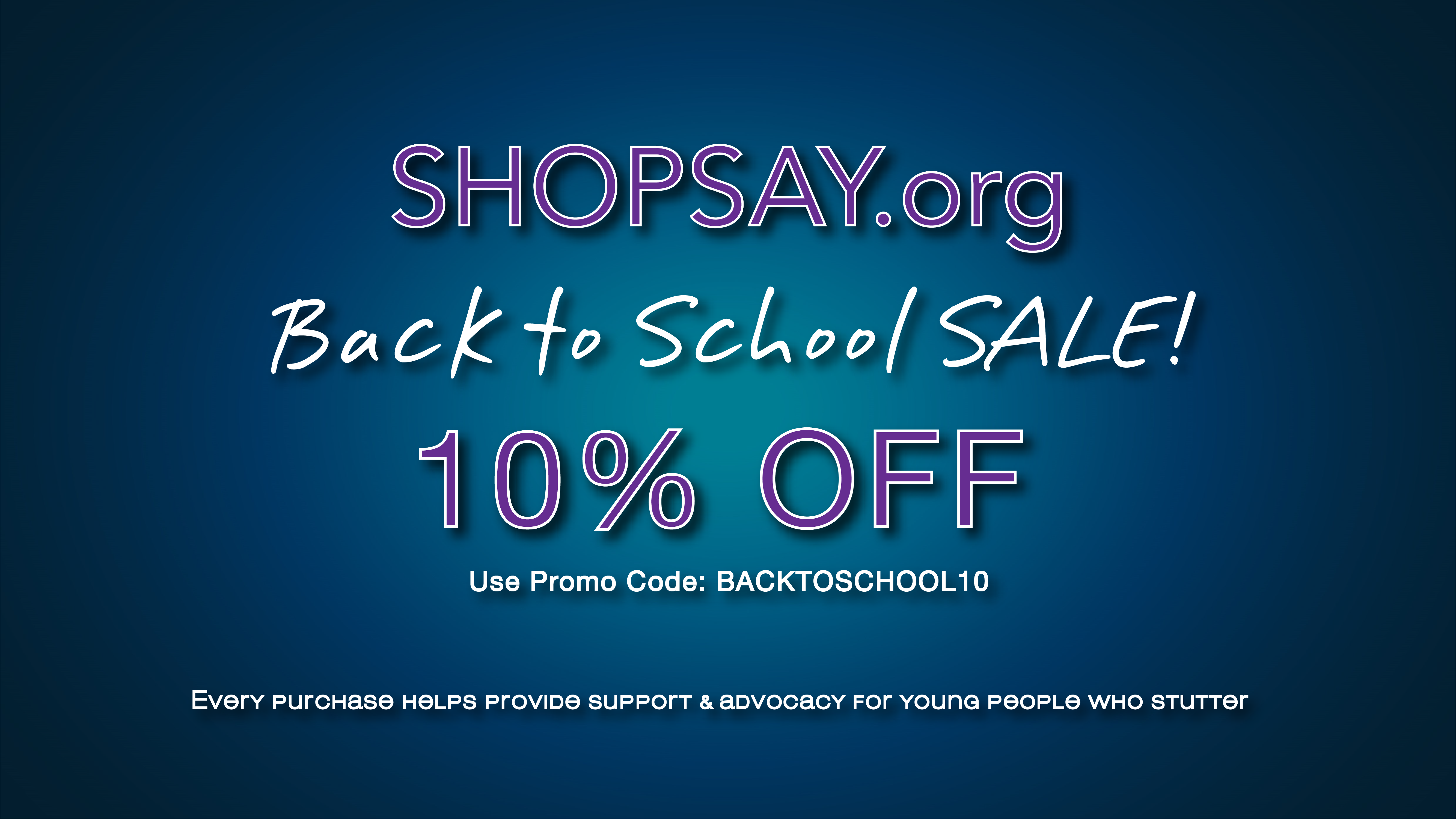 The NEW ShopSAY.org!