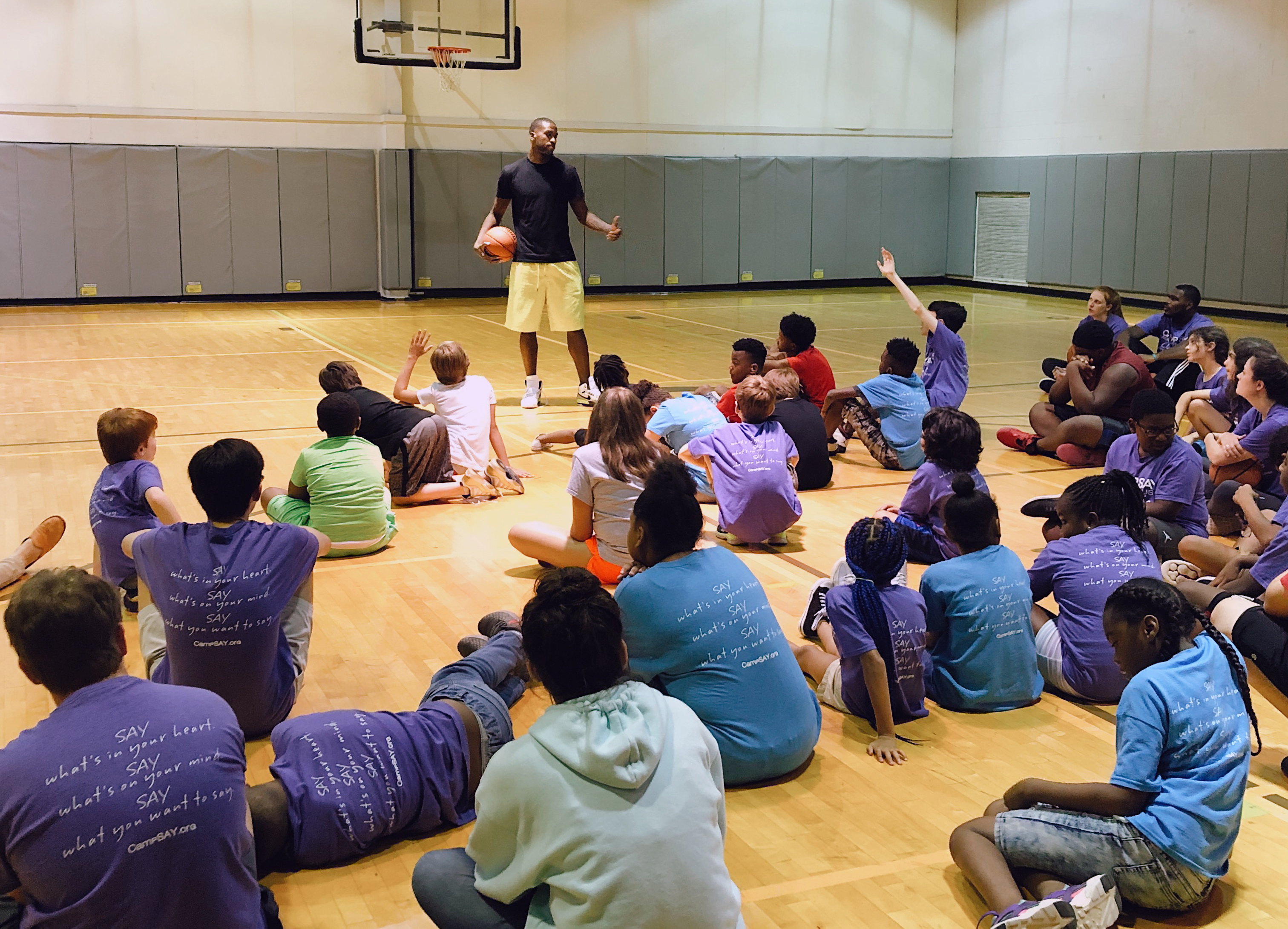 Camp SAY Across the USA: Charlotte hosted by Michael Kidd Gilchrist