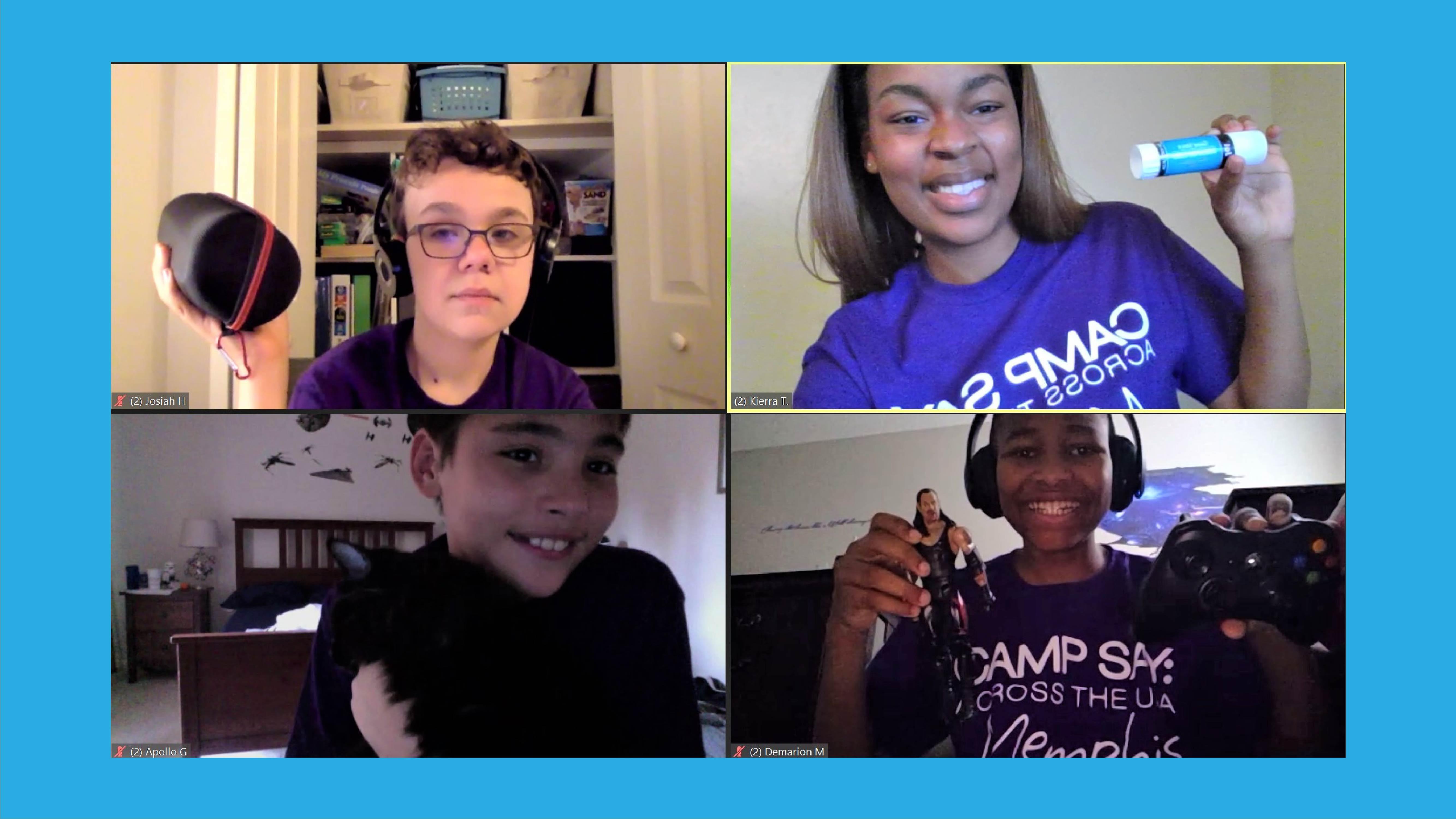 Camp SAY Across the USA: Memphis – WRAP