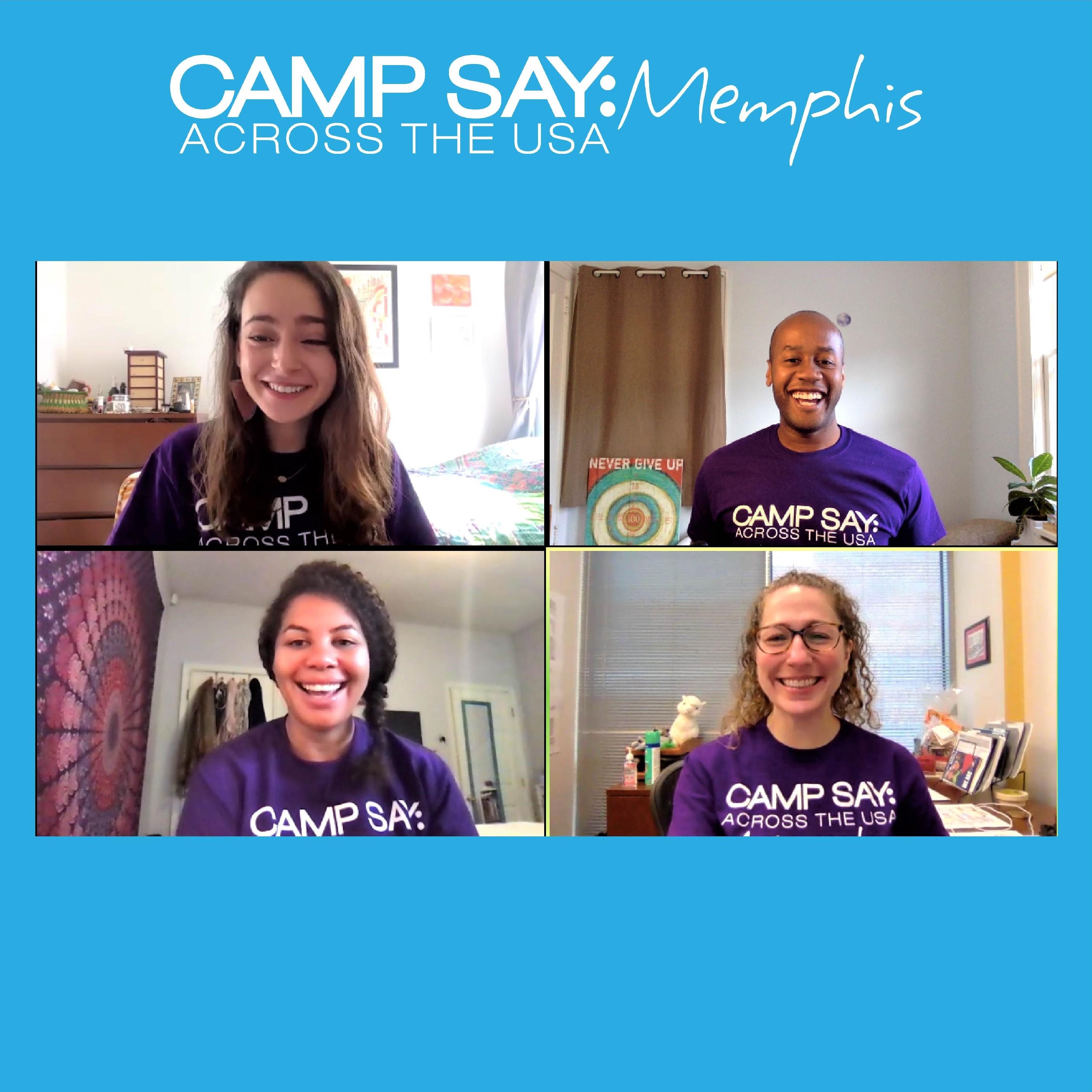 Camp SAY Across the USA: Memphis Leadership & Staff